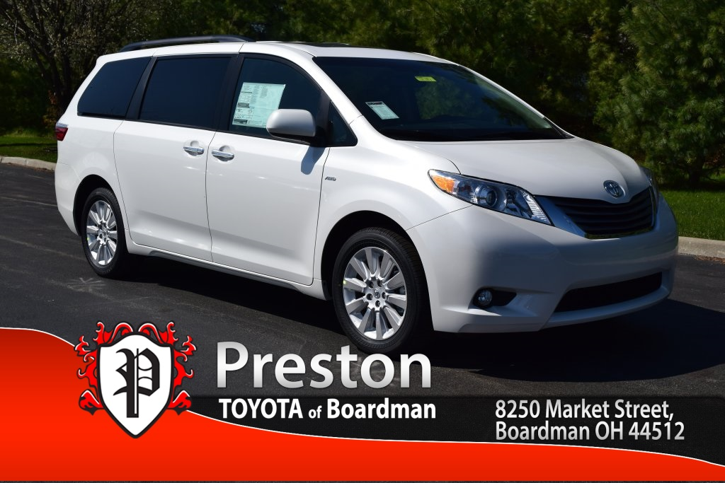 new 2016 toyota sienna xle premium 4d passenger van in boardman t16492 toyota of boardman. Black Bedroom Furniture Sets. Home Design Ideas